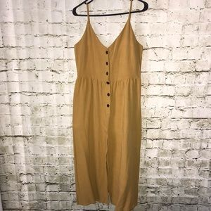 🌸NWT ONE Clothing Mustard Jumpsuit🌸